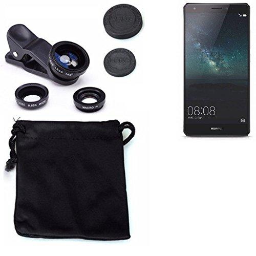 3in1 Huawei Mate S Lenti FishEye (180°) Grandangolo (0.67x) Macro Obiettivi Smartphone Cellulare Obiettivi Smartphone- K-S-Trade