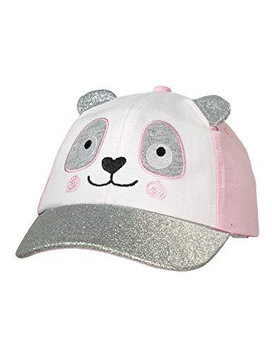 maximo Baby-Mädchen Cap Kappe, Mehrfarbig (Zartrosa/Graumeliert 3005), (Herstellergröße: 47/49)