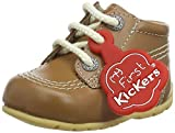 Kickers Kick Hi, Botas Unisex bebé, Marrón (Brown Tan), 16 EU