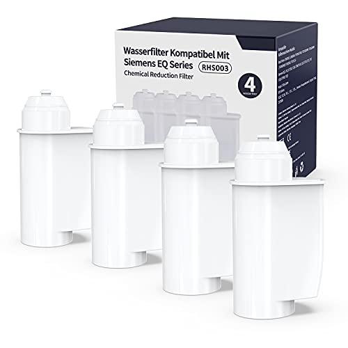 Wasserfilter für Siemens EQ 6/9 TZ70003, Filter Kompatibel mit Brita Intenza Siemens EQ Series TZ70033 Bosch TCZ7003 TCZ-7003 TCZ7033 (4er Pack)