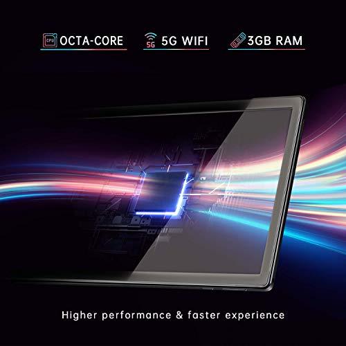 VANKYO MatrixPad S30 10 inch Octa-Core Tablet, Android 9.0 Pie, 3GB RAM, 32GB Storage, 13MP Rear Camera, 1920x1200 IPS Full HD Display, Bluetooth 5.0, 5G Wi-   Fi, GPS, Silver