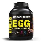 Genesis Nutrition Egg Protein 100% Albume de huevo italiano de poco carbohidratos y sin grasas sabor chocolate