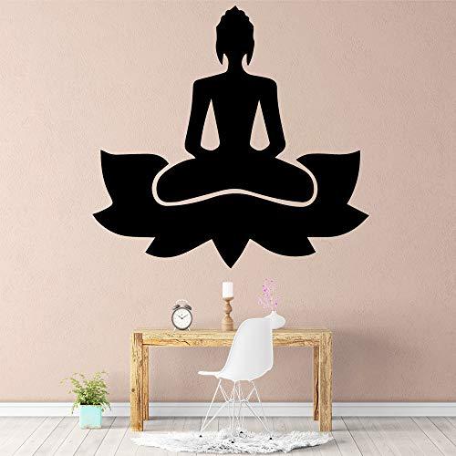 yaonuli Buddha Wandtattoo Kunst Vinyl Aufkleber Aufkleber kreative Aufkleber 30x31cm