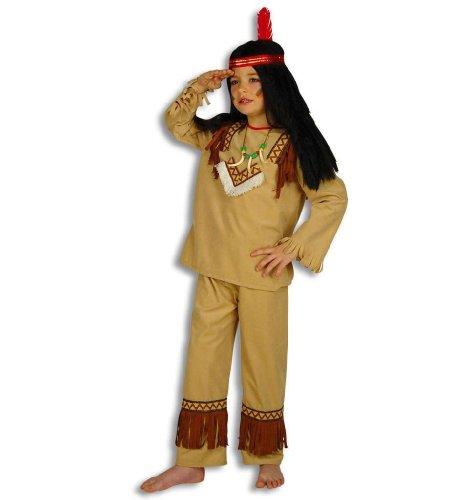 Indianer Kleiner Wolf Kinder Kostüm Gr 116