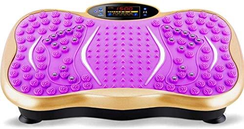 ZOUSHUAIDEDIAN Vibratoria-Máquinas de ejercicios completa del cuerpo entero del entrenamiento de fitness Plataforma vibrante Equipo de entrenamiento de gimnasio en casa, fitness y pérdida de peso de t