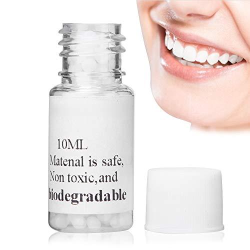 Brrnoo Kit de Reparación Dental, Kit de Relleno Temporal de Dientes Caries Dental, Material de Relleno de Huecos para fotografía, Maquillaje o empastes temporales(10ml)