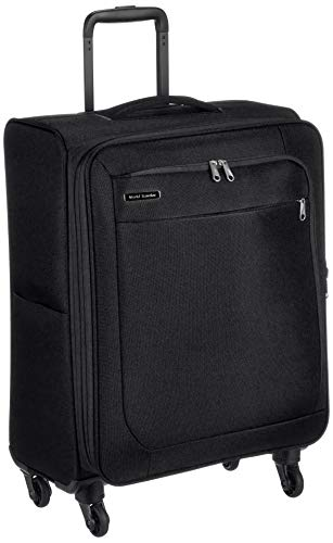 [ワールドトラベラー] スーツケース コーモスTR エキスパンド機能付 62L 55 cm 2.8kg ブラック