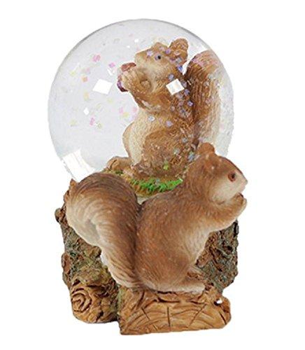 PIA International Glitzerkugel Eichhörnchen Schneekugel Tier Tiere Schneekugeln