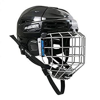 Bauer Ims 5.0 Ii Hockey Helmet/Mask Combo Black L