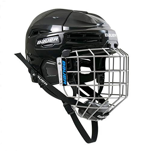 Bauer Ims 5.0 Ii Hockey Helmet/Mask Combo Black M