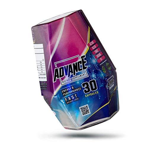 LIPOBLUE Advance, Suplemento dietario multifuncional 100% Natural. Ayuda a la pérdida de peso, elimina grasa, Evita la retención de líquidos, aumenta la energía, acelera el metabolismo.