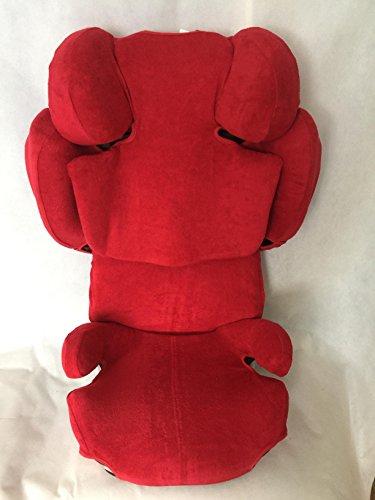 Sommerbezug Schonbezug für Cybex SOLUTION Z-Fix Frottee 100% Baumwolle rot