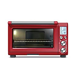 image of the Cranberry Red Breville BOV 845 countertop oven