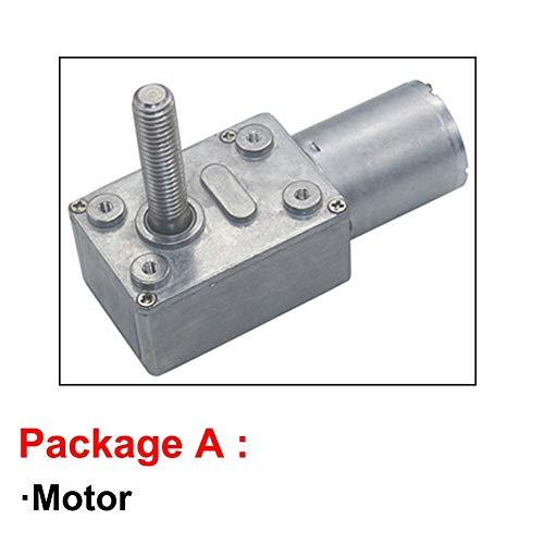 BoaInx Motor eléctrico Alta 6-150RPM par Motor de Corriente Continua de Velocidad...