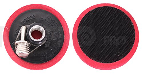 Ram-Pro 3 Car Buffing and Wax Polishing Pad Kit Drill Attachment Tool with Fastener Wheels