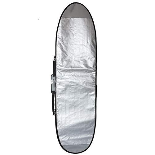 qidongshimaohuacegongqiyouxiangongsi Tabla de Surf Hinchable para Tabla de Surf Viajes Funboard Bolsa de 8 pies.Día protección de la Cobertura Boardbag 8'0' (243 cm) Tabla de Surf electrica comun