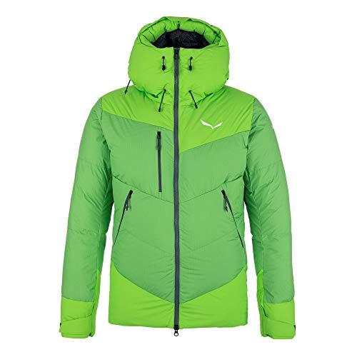 Salewa M Ortles Heavy 2 Powertex Down Jacket Grün, Herren Daunen Isolationsjacke, Größe M - Farbe Classic Green
