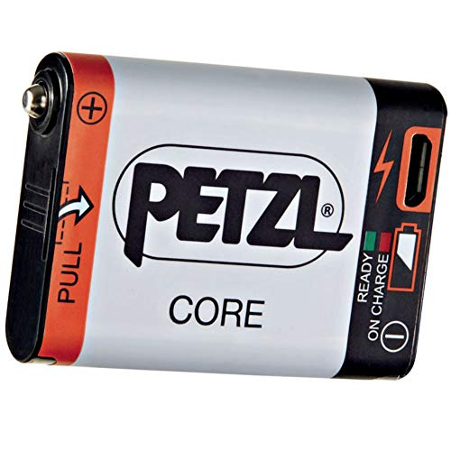 Petzl Core Rechargeable Headlamp Battery - Fits Hybrid Concept Head Torches, 1250mAh / USB Rechargeable Torch Lighting Lamp Running Caving Walking Fishing Hiking Camping Emergency Travel Accessories