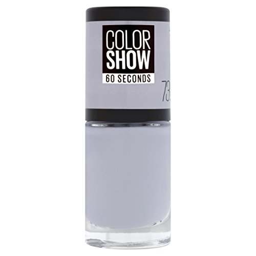 Maybelline New York - Color Show, Esmalte de Uñas Secado Rápido, Tono: 073 City Smoke