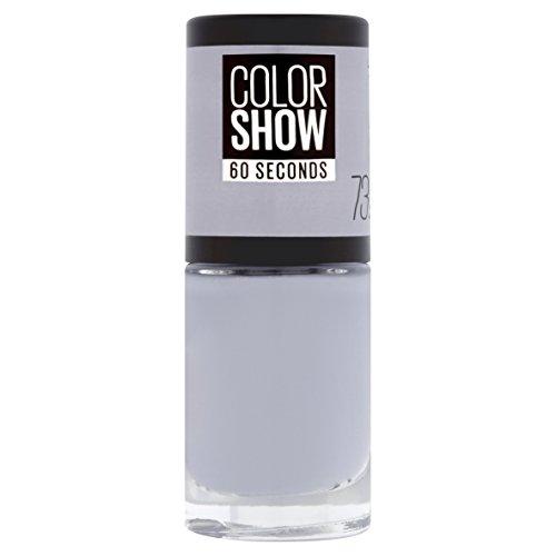 Gemey Maybelline Colorshow – nagellak -73 City Smoke – lichtgrijs
