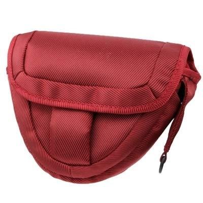 La selección de Cici Bolso de Tela para cámara Digital portátil con Correa, Tamaño: 21 x 8 x 16.5cm (Rojo Escarlata) (Color : Scarlet Red)