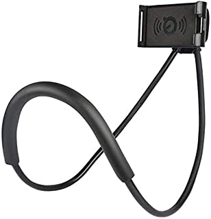 Lazy Hang Neck Phone Support Holder, Multi-function Creative Mobile Phone Holder Desktop Bed Car Lazy Bracket Mobile Stand...