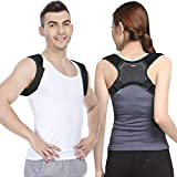 Posture Corrector for Men and Women -Upgrade Breathable and Adjustable Back Brace Physical