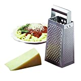 """Tablecraft 4"""" x 3"""" Box-Type Tapered Grater w/ Rolled Handle"""