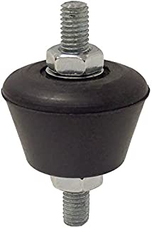 CULER 4PCS de Goma de amortiguaci/ón del Amortiguador de Vibraciones de Caucho Anti Montaje del Amortiguador de Choque del coj/ín de Aire Acondicionado del absorbedor