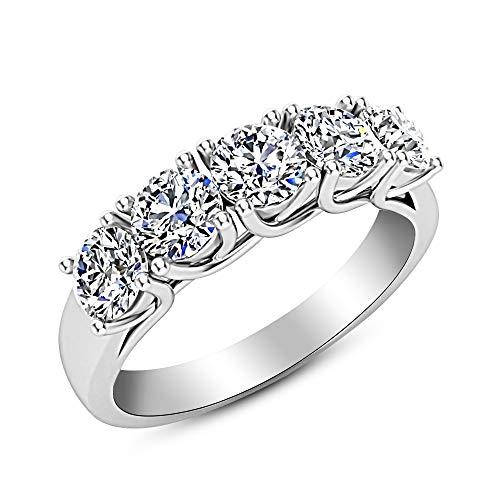 12 to 12.75 Women's Anniversary Rings