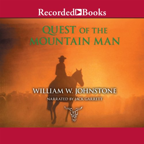 Quest of the Mountain Man audiobook cover art