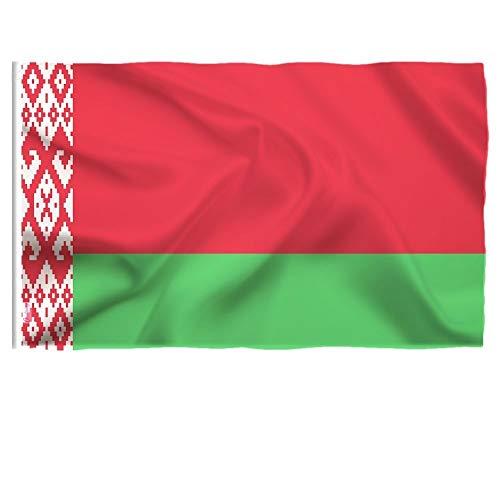 ZAVIER 90 X 150cm Belarus Flag Parade Aktivität Feiertags-Dekorations-Banner Weißrussland-Flagge Innen- Und Außendekoration Fahnen & Banner (Size : 90 X 150cm)