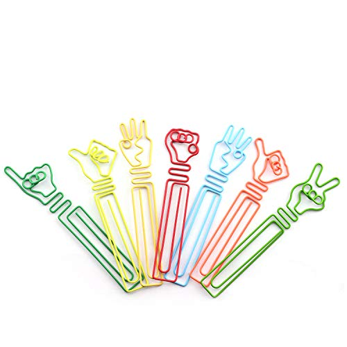 different shaped paper clips - 5
