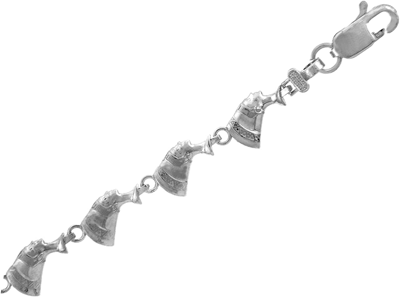WHITE Max 79% OFF GOLD BRACELET - THE Clearance SALE! Limited time! CLEOPATRA Purity:: Gold 10K