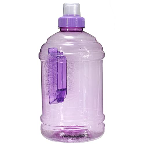 Botella de agua deportiva para deportes al aire libre, botella de agua grande, botella de agua grande, 1 l, para deportes, ciclismo, correr, senderismo, yoga (tamaño: tamaño libre; color: púrpura)
