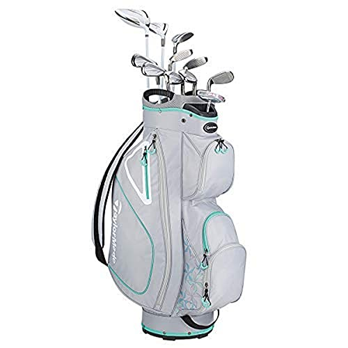 TaylorMade Golf Kalea Package Set Grey Green RH, 11 Clubs