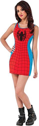 Rubie's Women's Marvel Universe Adult Spider-man Tank Dress, Multi, Small