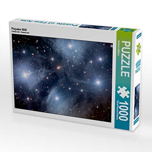 CALVENDO Puzzle Plejaden M45 1000 Teile Lege-Größe 64 x 48 cm Foto-Puzzle Bild von Reinhold Wittich
