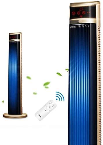 Torenventilator Stille ventilator, huishoudelijke verticale koeler luchtbevochtiger, afstandsbediening draagbare slaapkamer kantoor, airconditioning