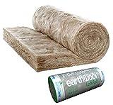 1 rollo de aislamiento de lana de Knauf de 44 170 mm de grosor, 8,01 m2 por rollo