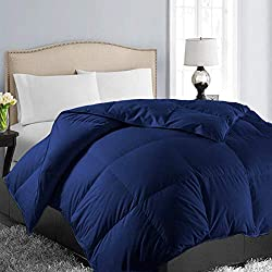 Easeland All Season Oversized King Soft Quilted Down Alternative Comforter