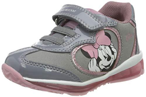 Geox B Todo Girl B, Zapatillas Bebé-Niñas, Grey, 24 EU