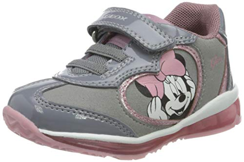 Geox Mädchen B TODO Girl B Sneaker, Grey, 22 EU