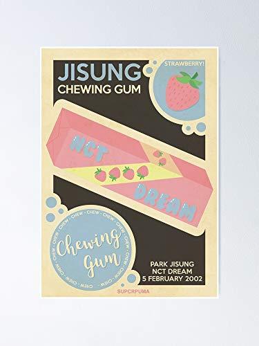 AZSTEEL Strawberry Jisung Poster