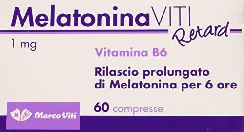 Marco Viti VVSO005 Melatonina Viti Retard - Rilascio Prolungato di Melatonina - 30 g