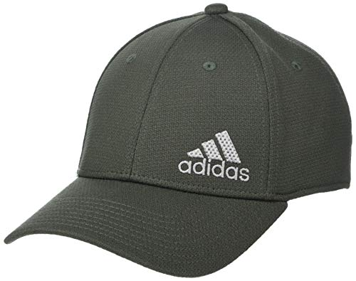adidas Release Stretch Fit Structured Cap Gorras de béisbol, Legend Earth Green/Light...