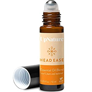 HIGH QUALITY RELIEF ROLL-ON: Blend of Lavandin, Peppermint, Wintergreen China, Rosemary-Spanish, Marjoram, and Frankincense Serrata essential oils. 100% pure, gentle, and effective non-GMO natural essential oil. No toxins, additives. Blended with Car...