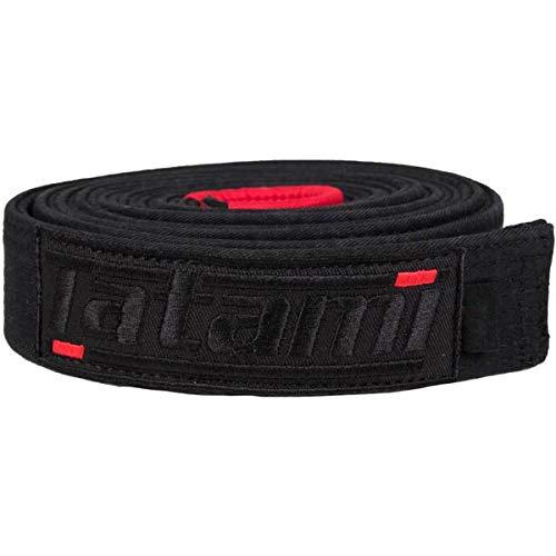 Tatami Fightwear DLX-blk-Belt-A1 Deluxe BJJ Gürtel, Schwarz, Einheitsgröße