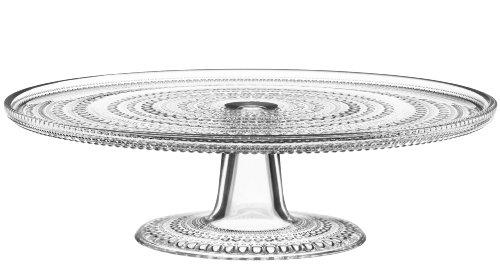 Iittala Kastehelmi Tortenplatte, transparent