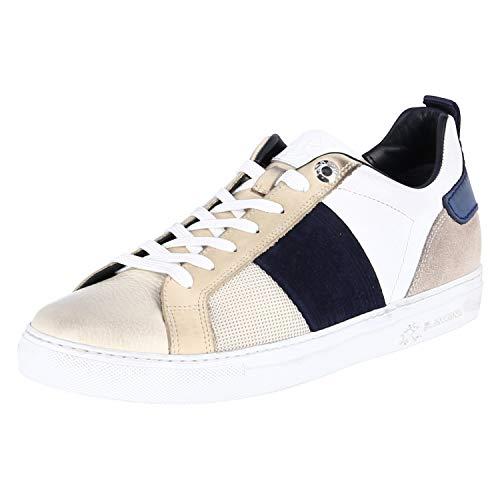 La Martina - Sneaker L7002211 - camoscio Navy, Schuhgröße:EUR 44